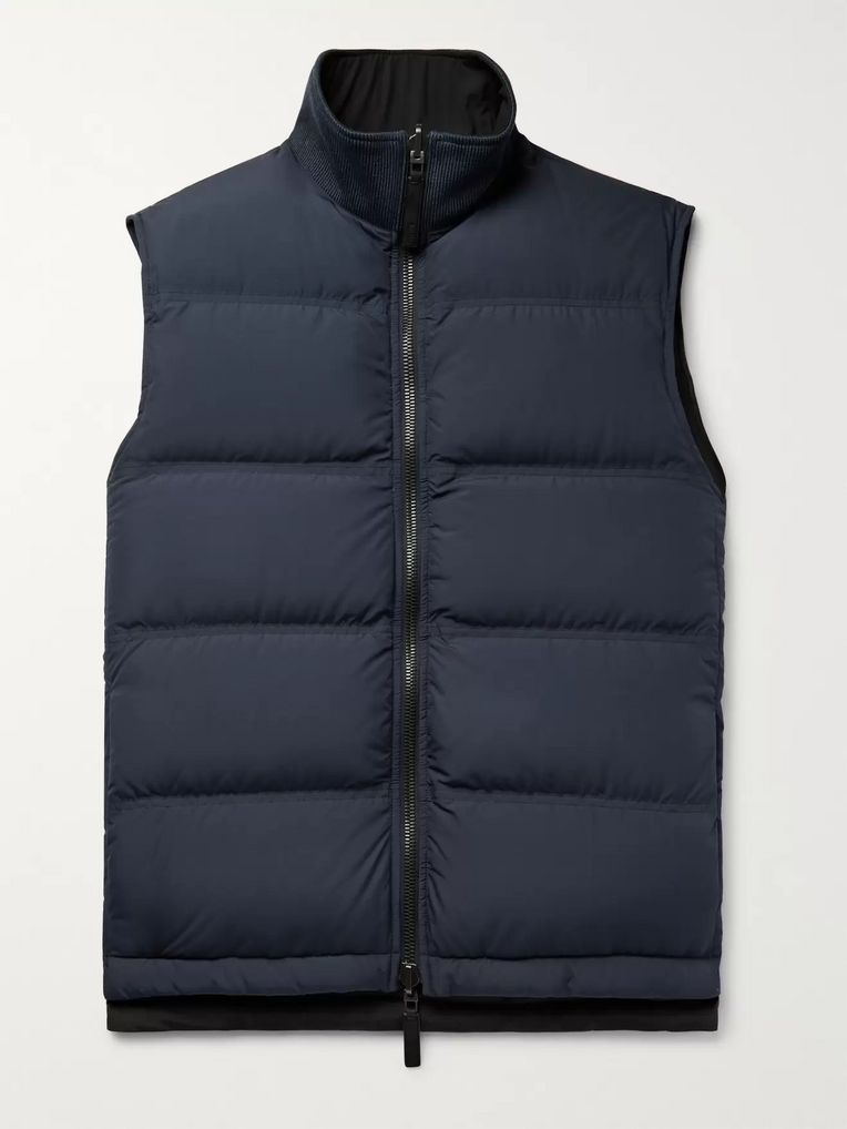 Berluti Quilted Shell Down Gilet