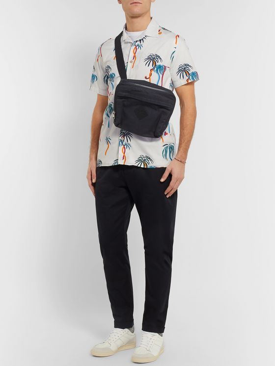 PS Paul Smith Camp-Collar Printed Cotton-Poplin Shirt