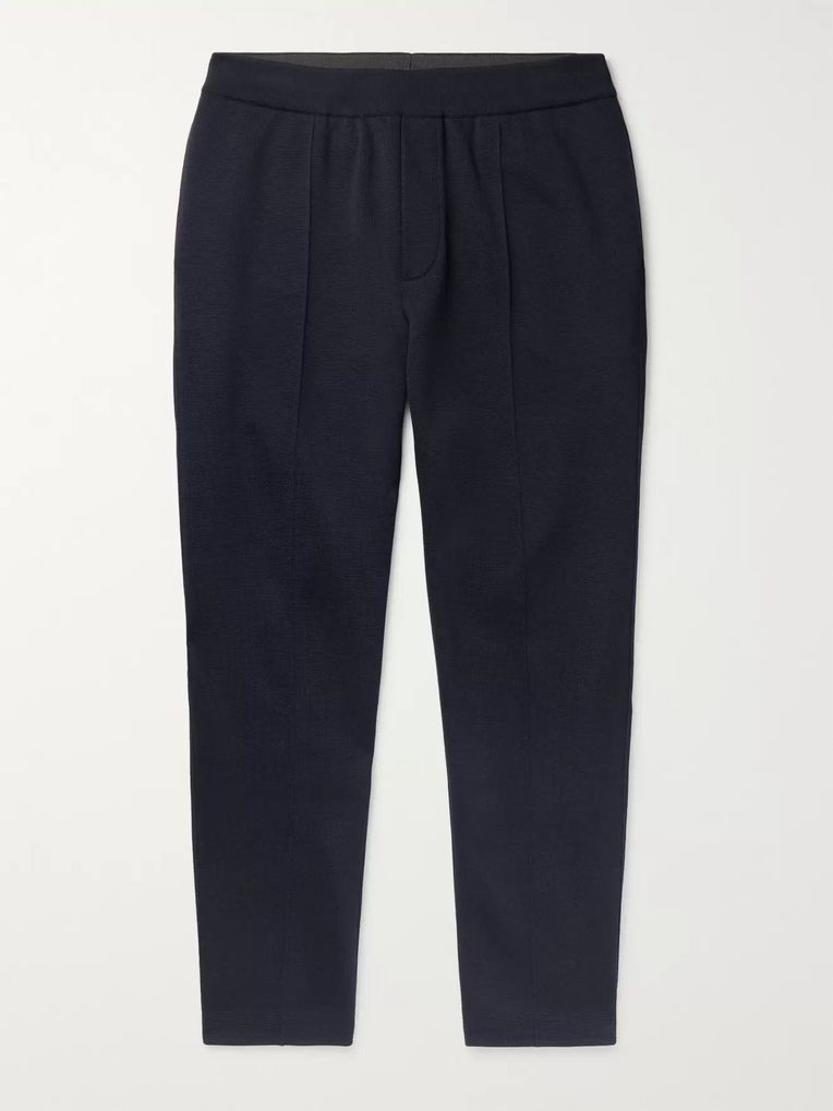 Berluti Slim-Fit Tapered Mulberry Silk and Cotton-Blend Sweatpants