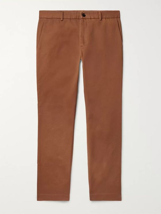 Gucci Slim-Fit Cotton-Drill Trousers