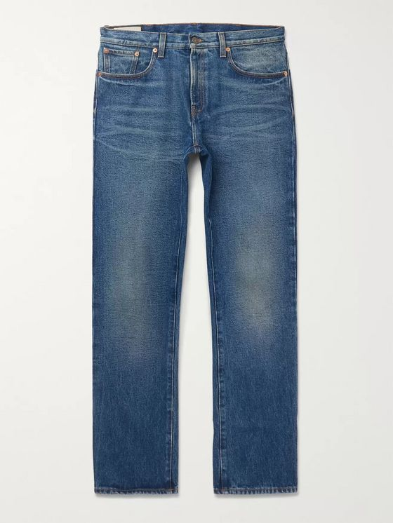 Gucci Washed-Denim Jeans