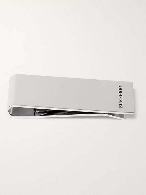 Burberry Silver-Tone Money Clip