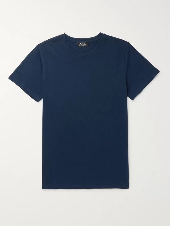 A.P.C. Jimmy Cotton-Jersey T-Shirt