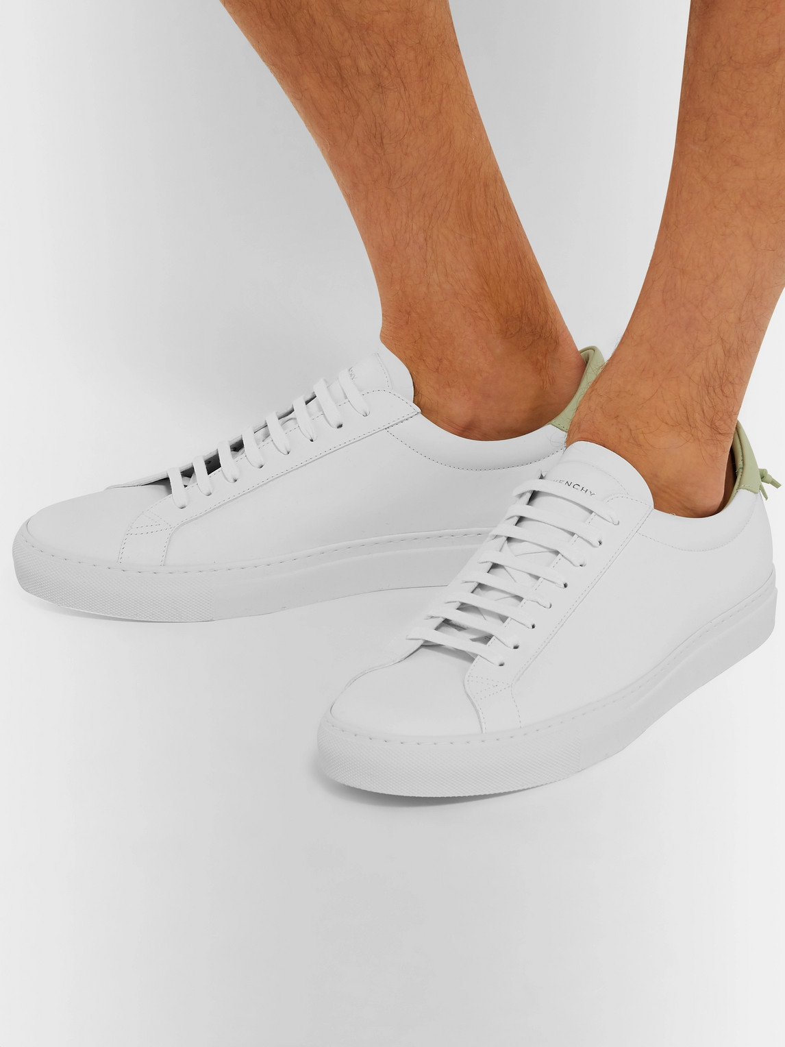 Givenchy Flats URBAN STREET LEATHER SNEAKERS