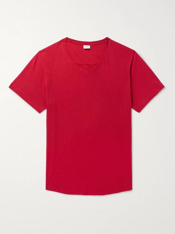 Onia Cotton and Modal-Blend Jersey T-Shirt