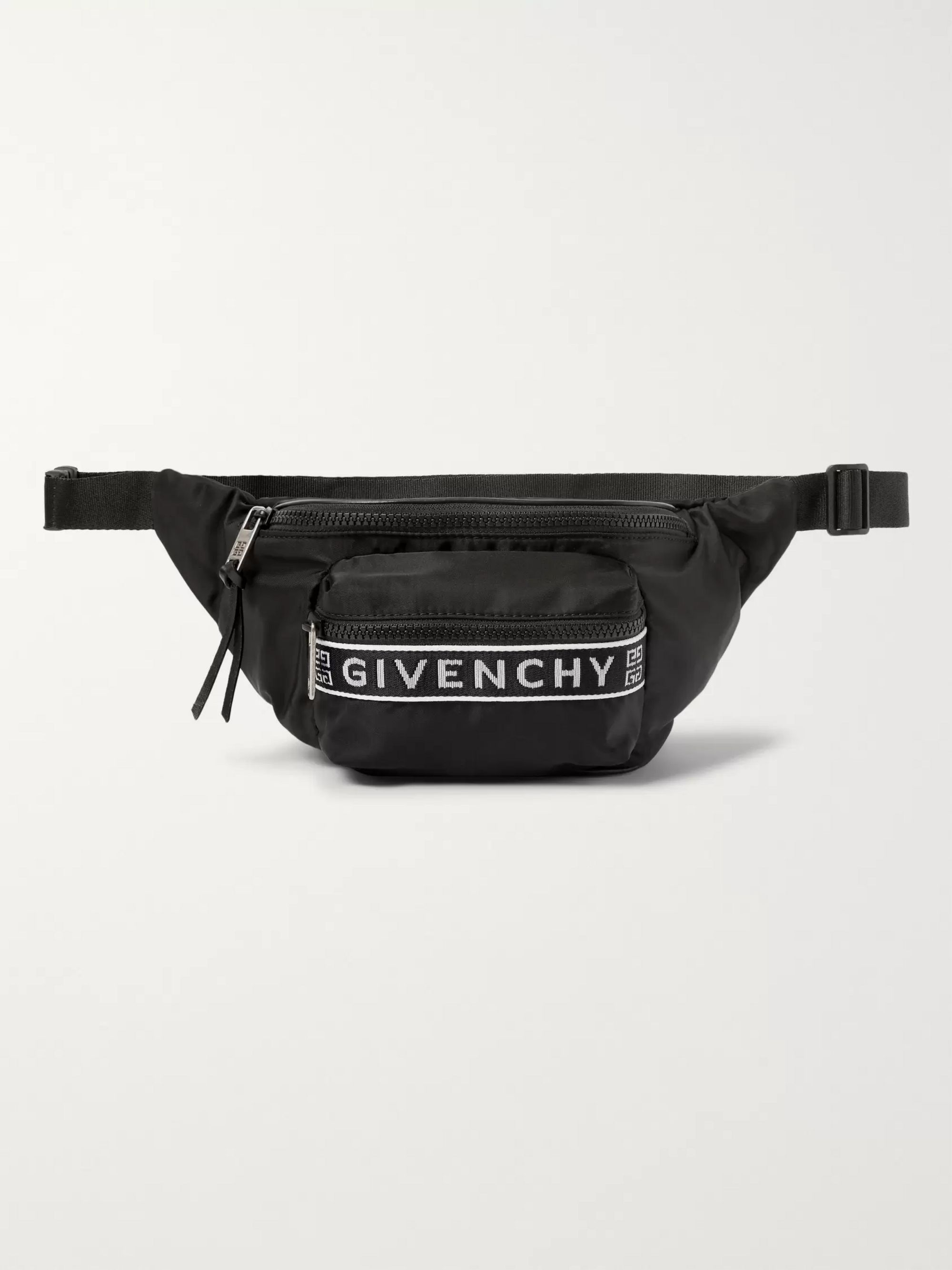 Givenchy Logo-Jacquard Nylon Belt Bag