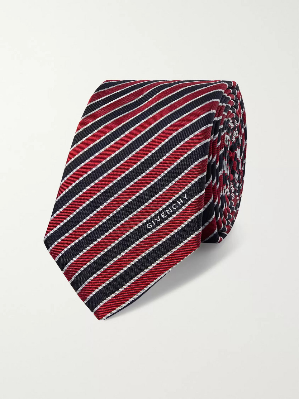 Givenchy 6.5cm Striped Silk Tie