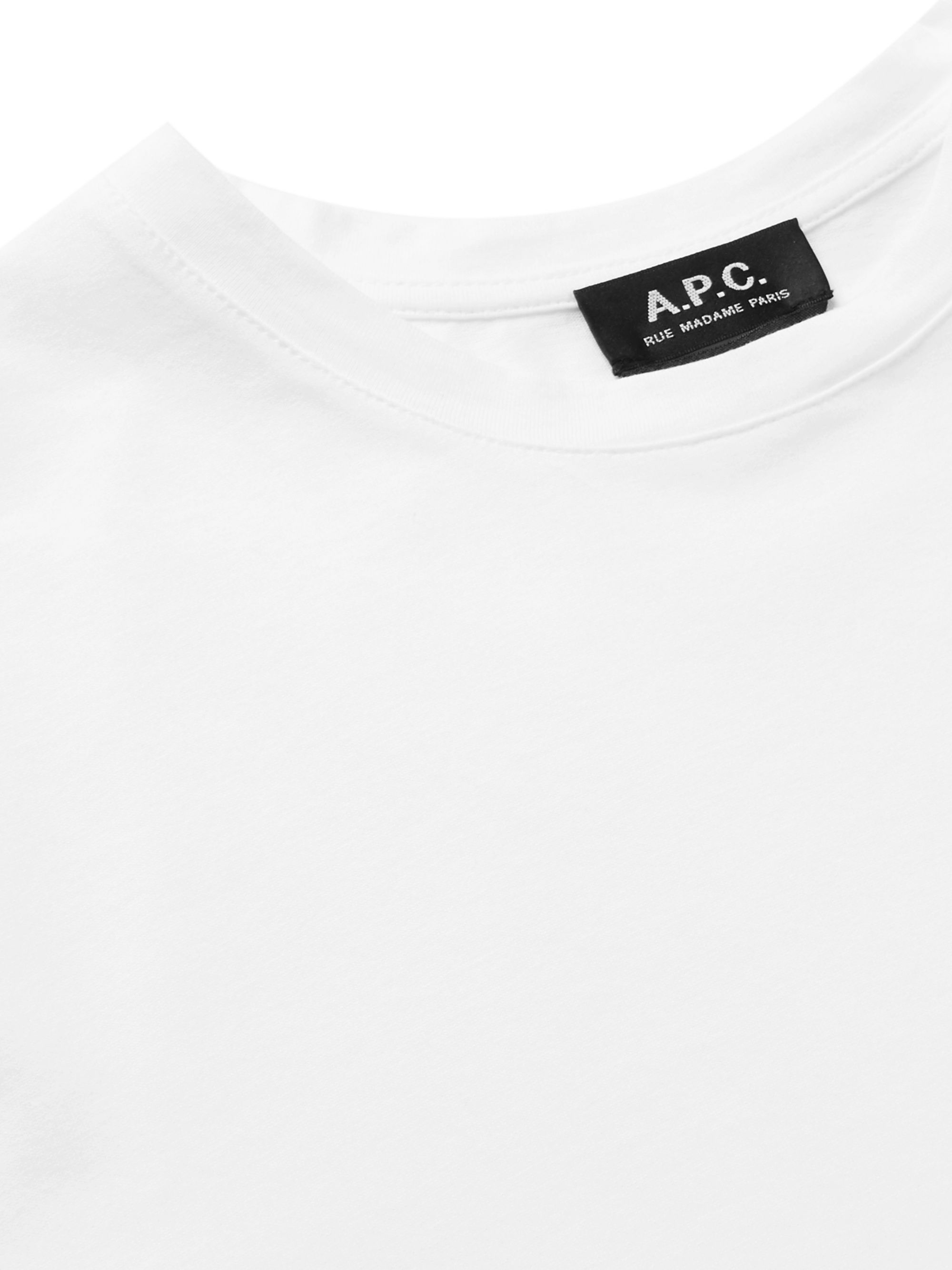 A.P.C. Dolls of Hell Printed Cotton-Jersey T-Shirt