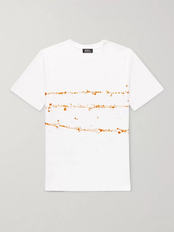 A.P.C. Tie-Dyed Cotton-Jersey T-Shirt