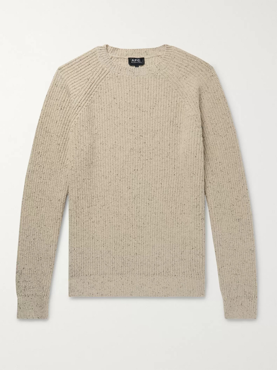A.P.C. Ribbed Knitted Sweater