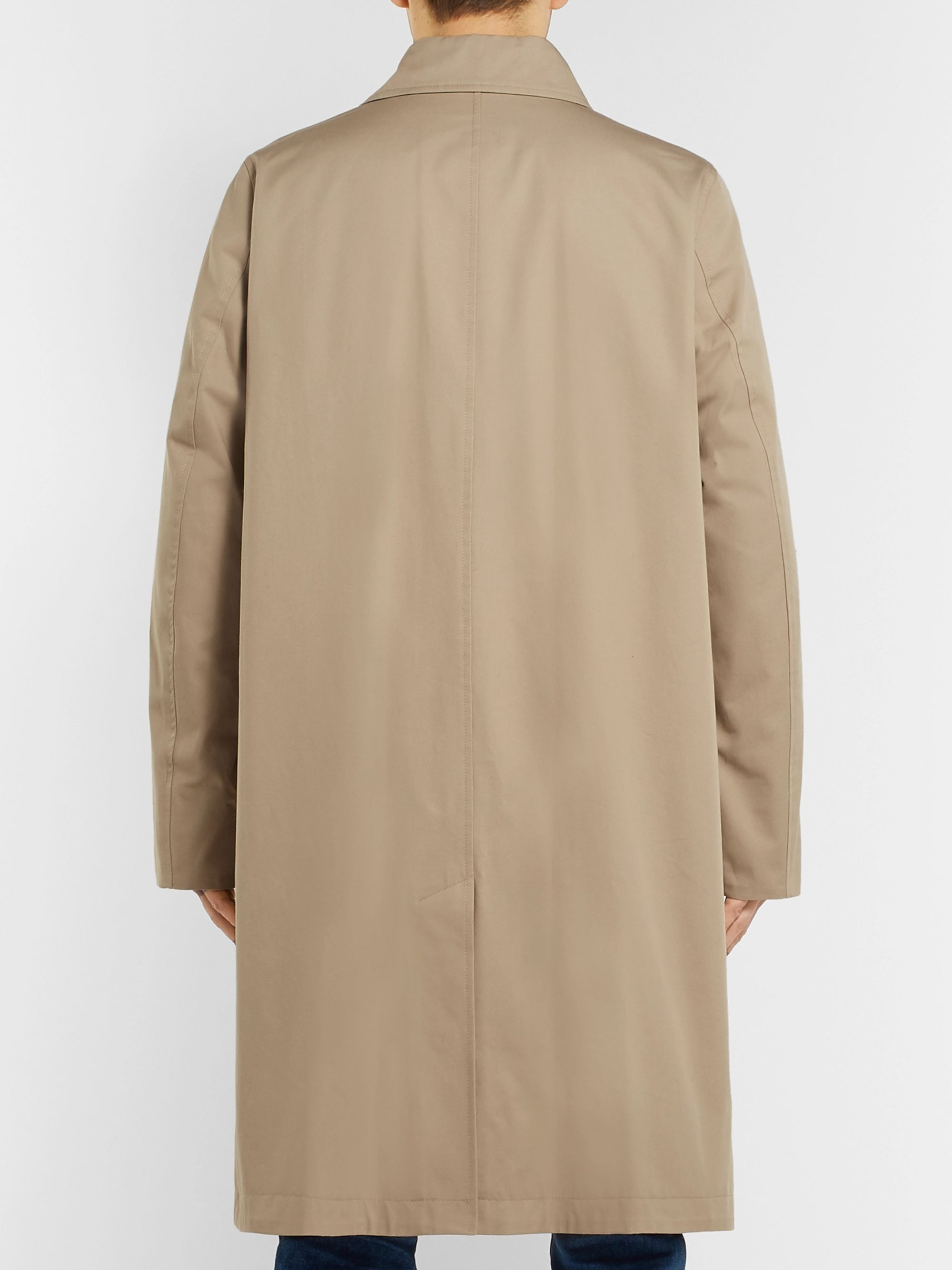 AMI Cotton-Twill Trench Coat