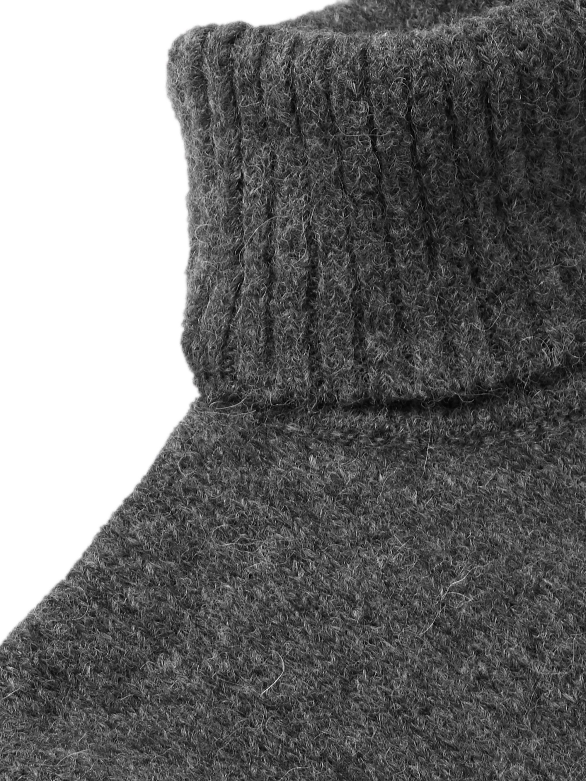 AMI Baby Alpaca-Blend Rollneck Sweater