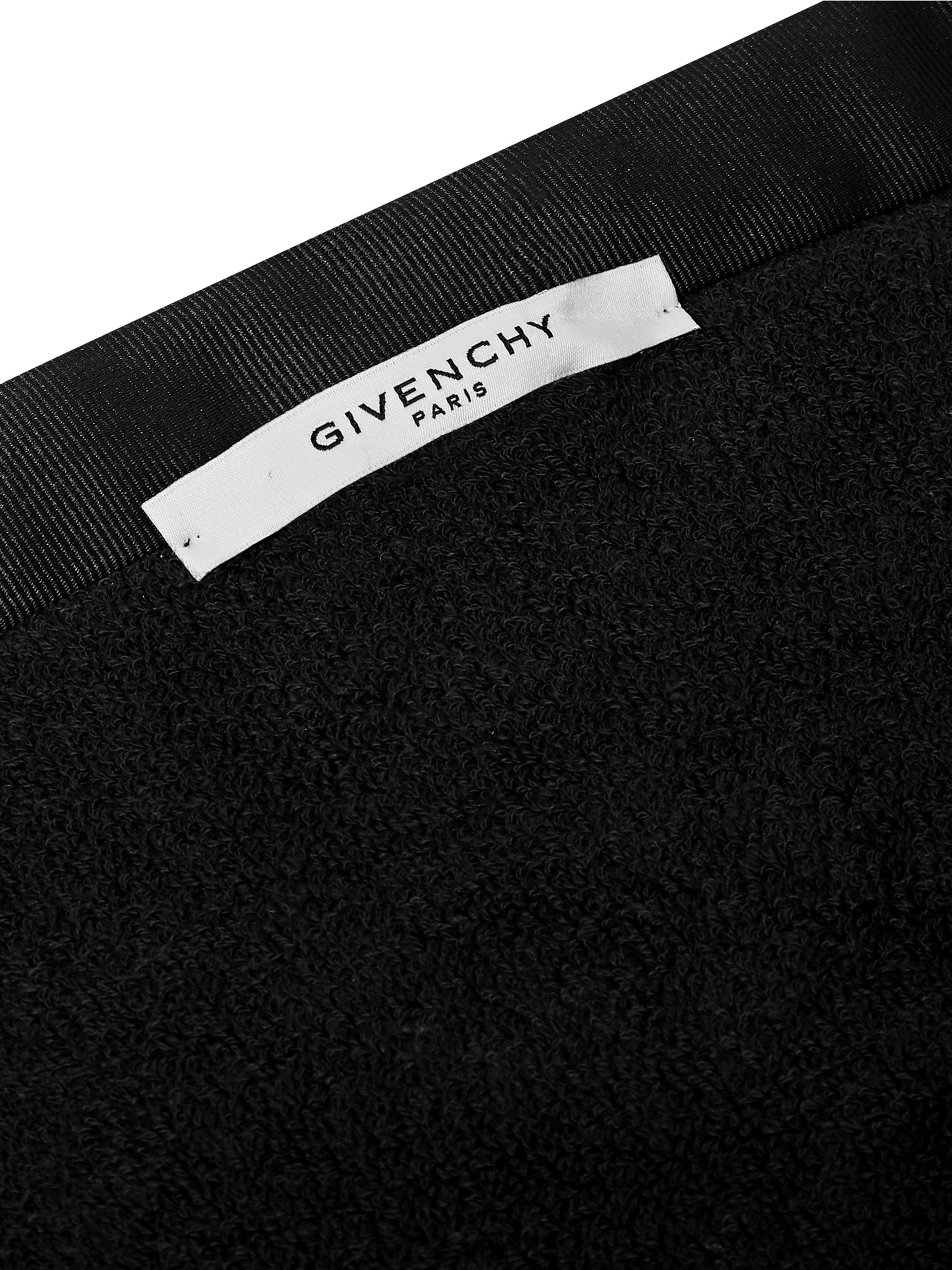 Givenchy Logo-Embroidered Cotton-Terry Towel