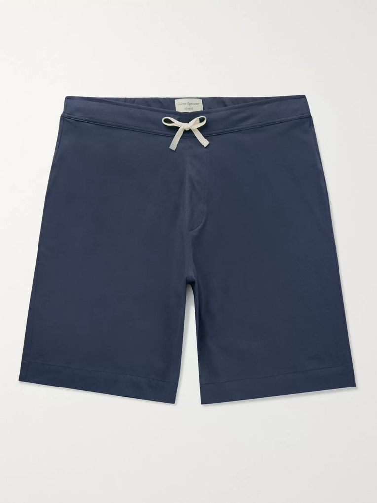 Oliver Spencer Loungewear York Supima Cotton-Jersey Shorts