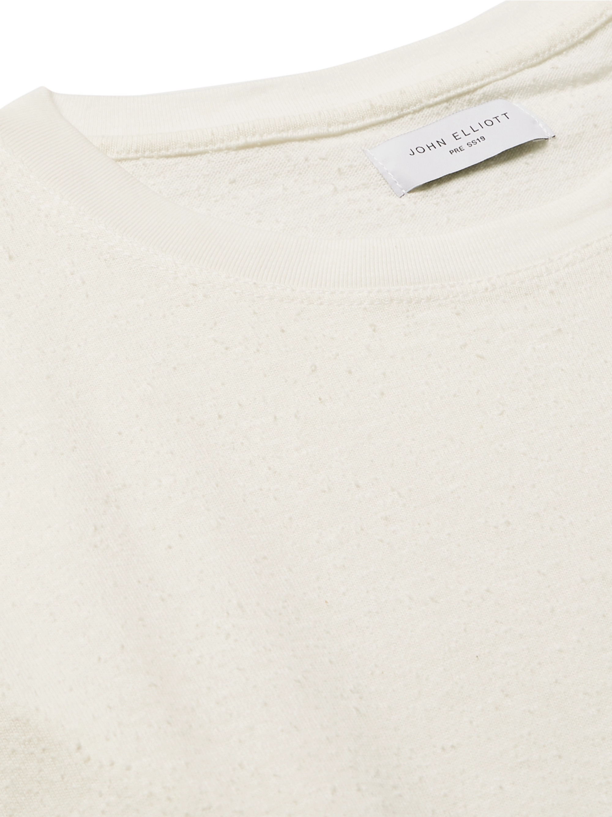 John Elliott Slub Cotton and Silk-Blend Jersey T-Shirt