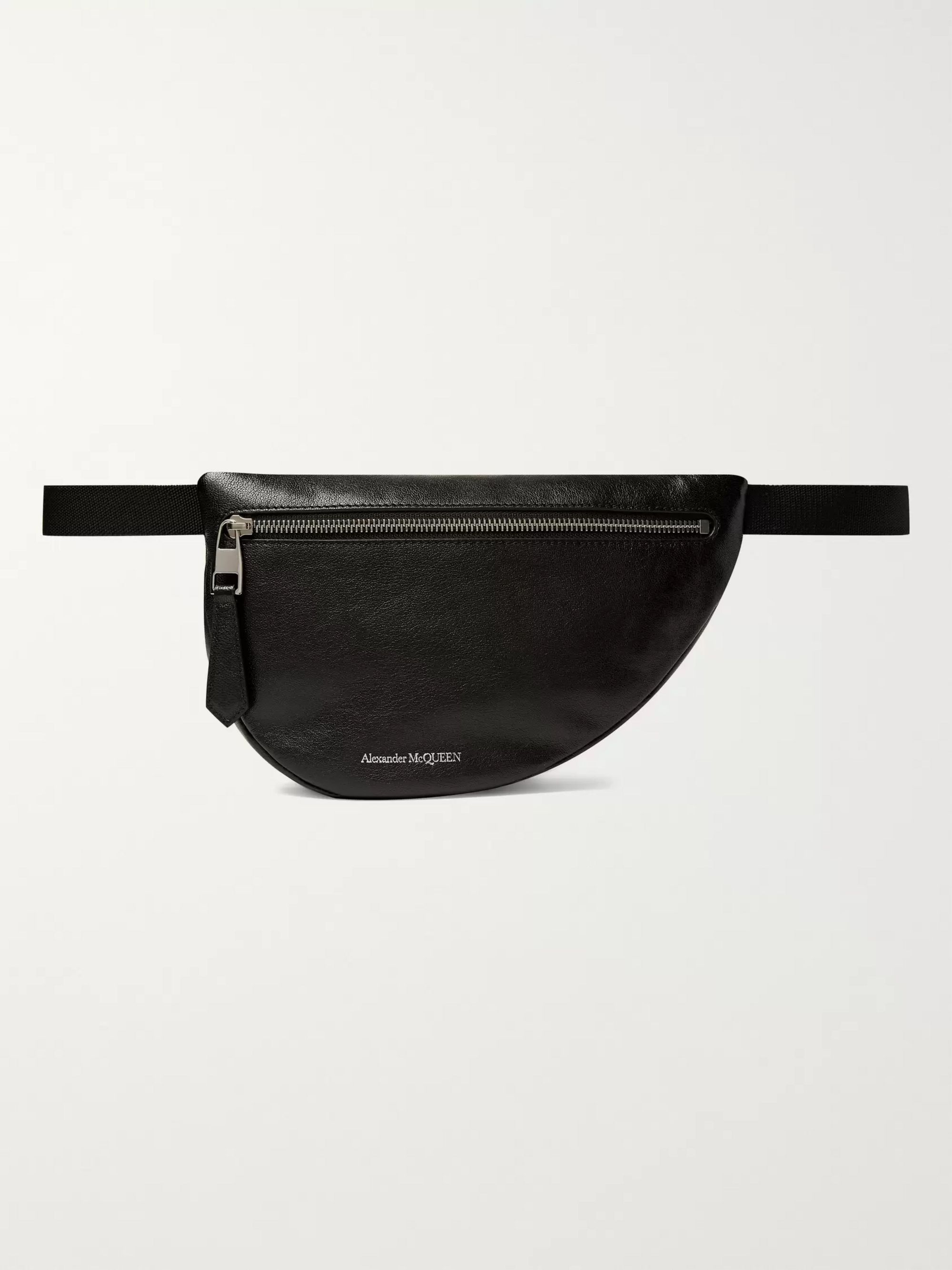 Alexander McQueen Leather Belt Bag