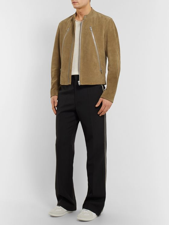 MAISON MARGIELA Slim-Fit Suede Jacket