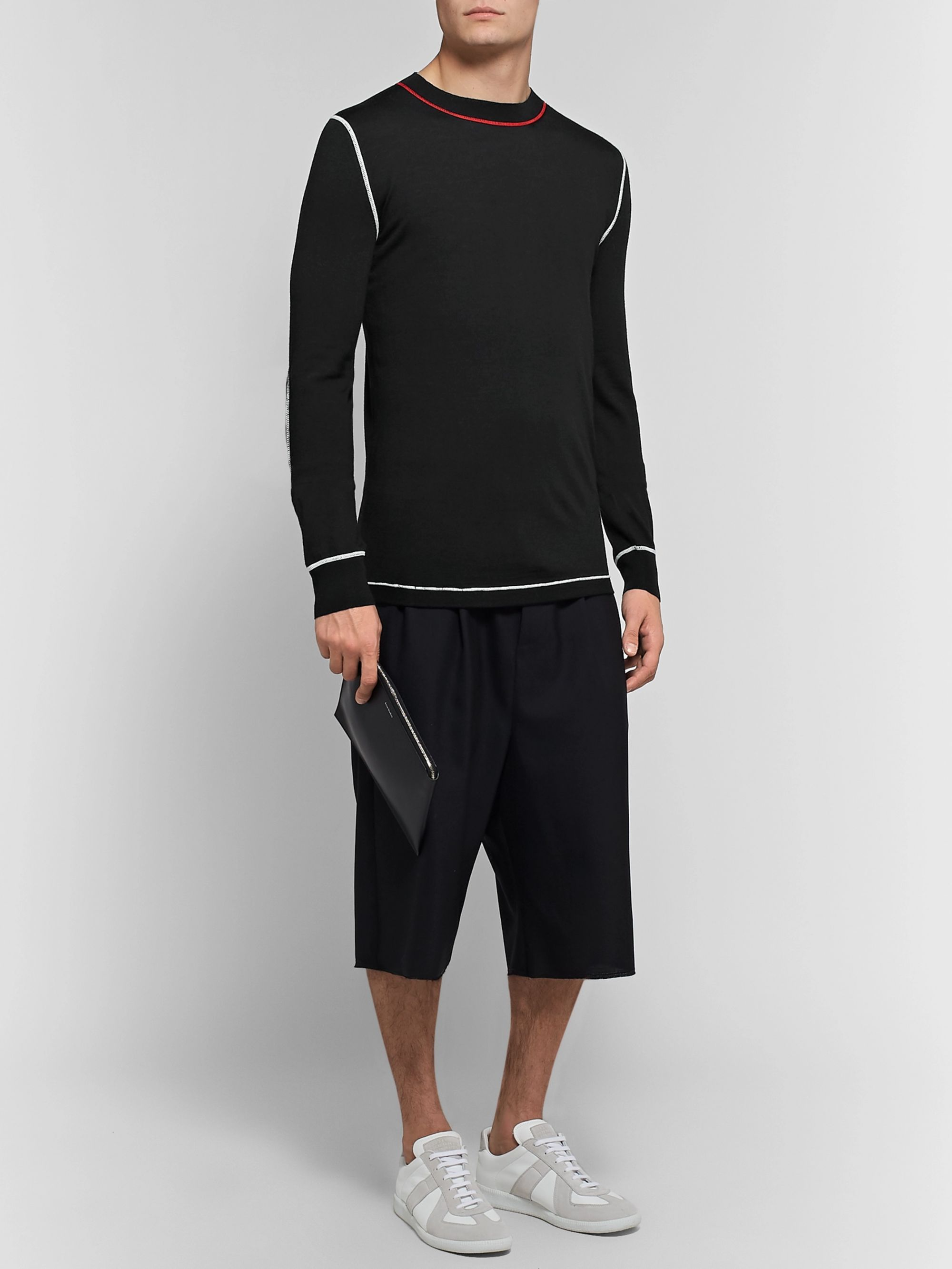 Maison Margiela Slim-Fit Wool-Blend Sweater