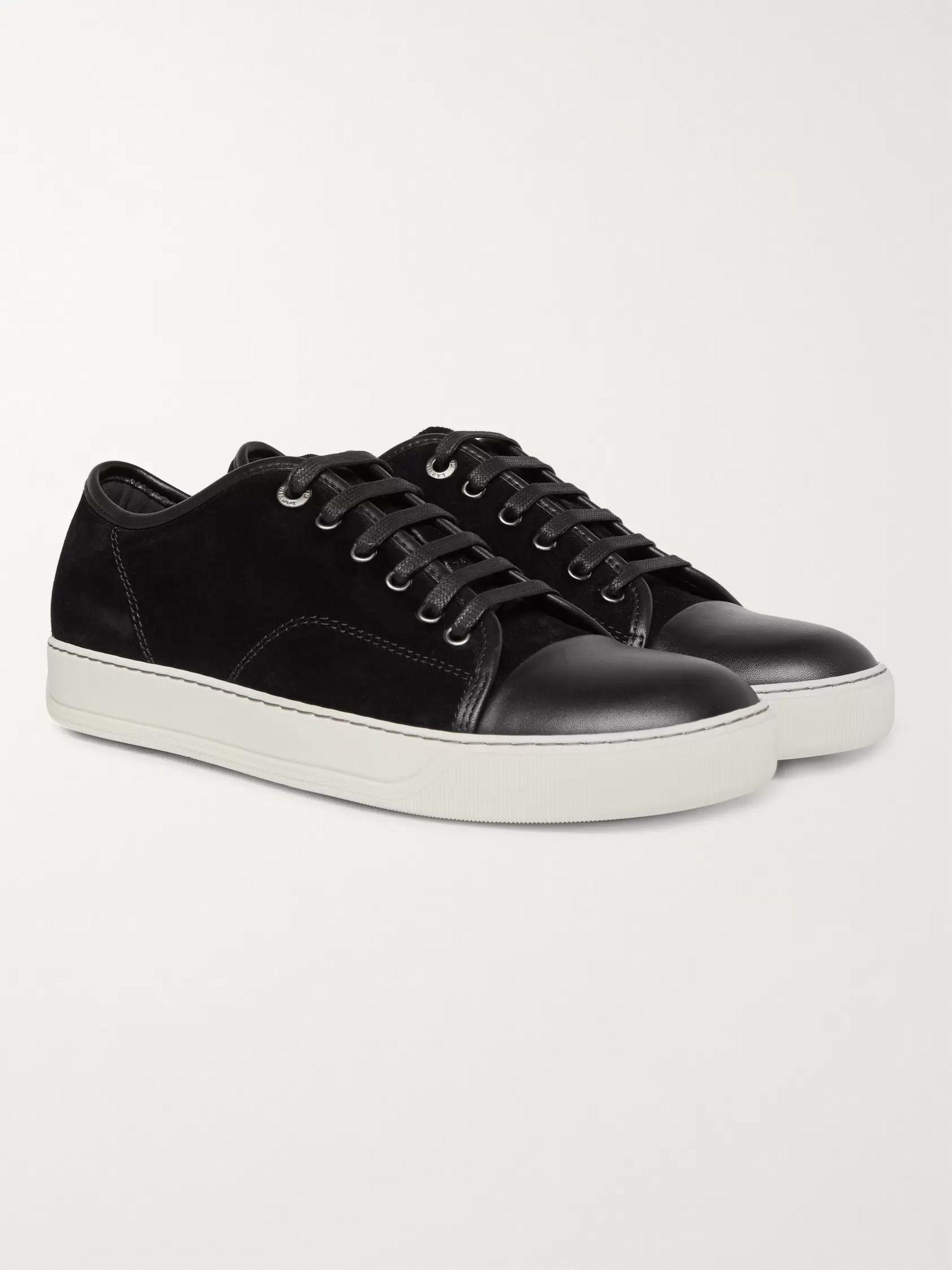 Leather Sneakers | Lanvin | MR PORTER