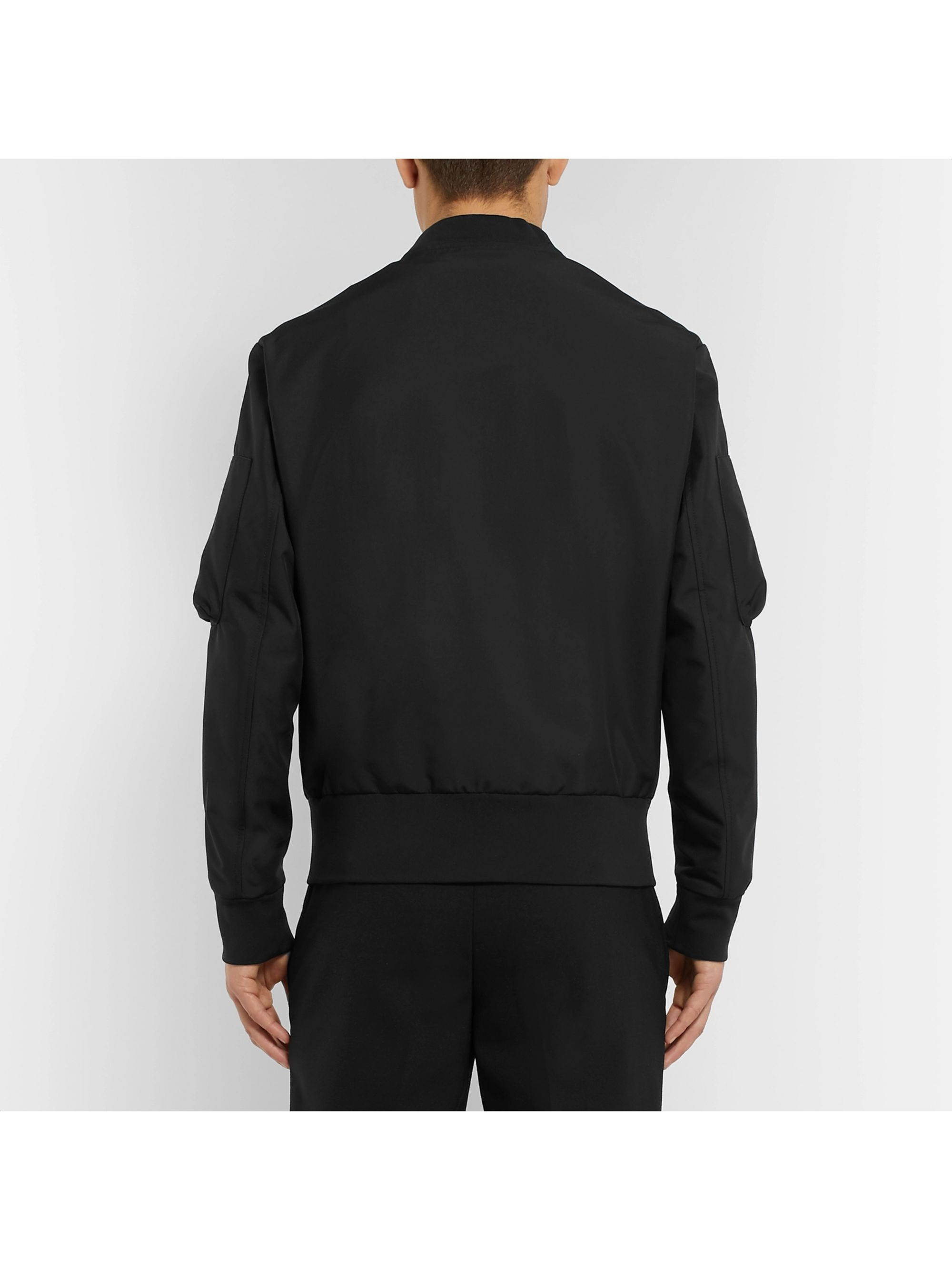 Neil Barrett Shell Bomber Jacket