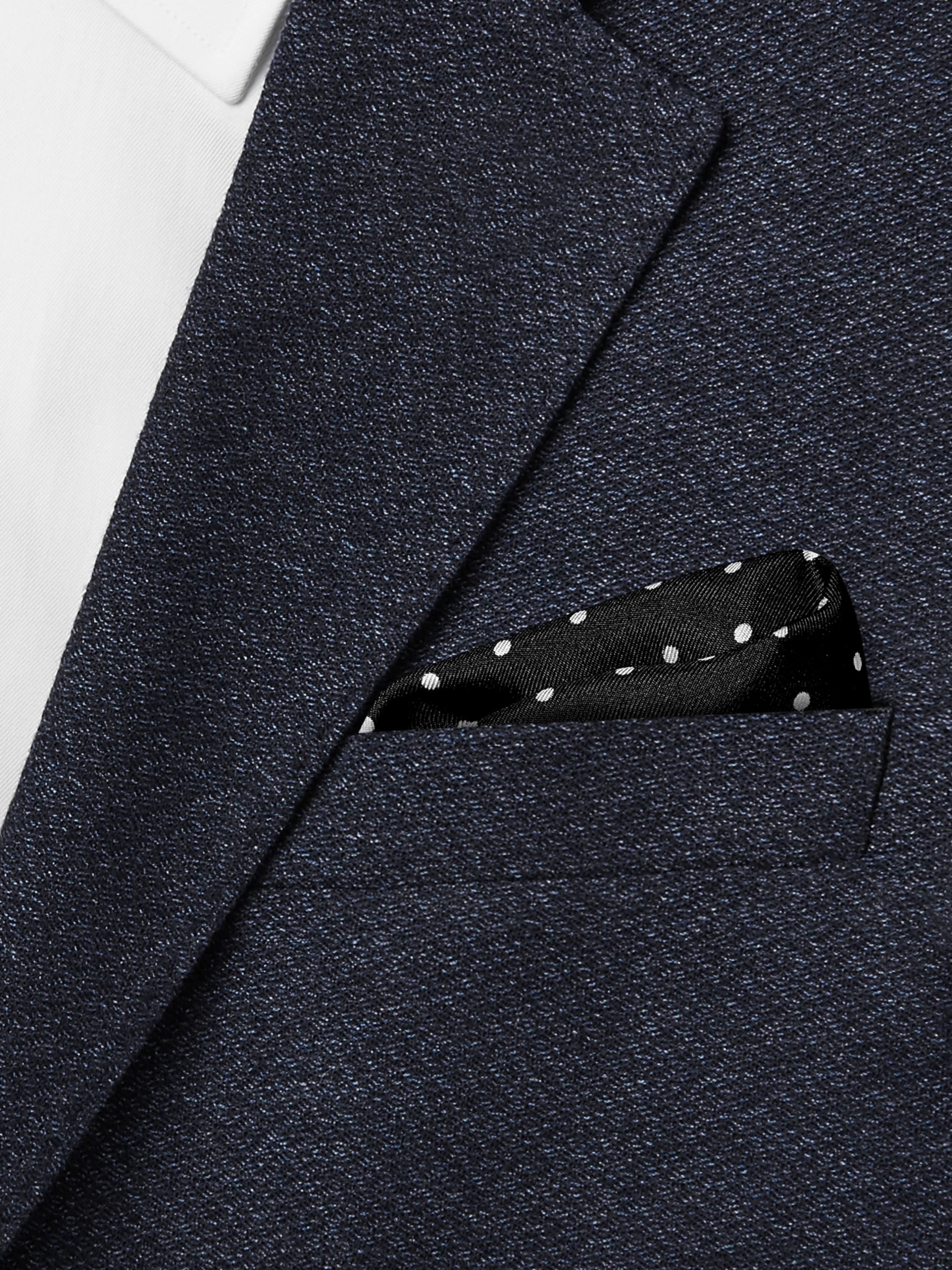 Dolce & Gabbana Polka-Dot Silk-Twill Pocket Square