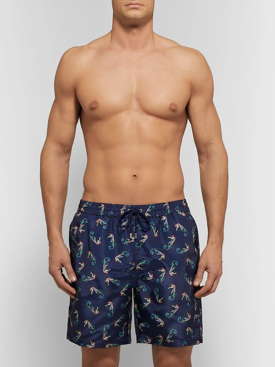 Paul Smith Long-Length Printed Swim Shorts