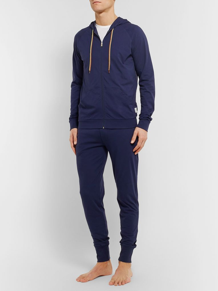 Paul Smith Slim-Fit Cotton-Jersey Zip-Up Hoodie