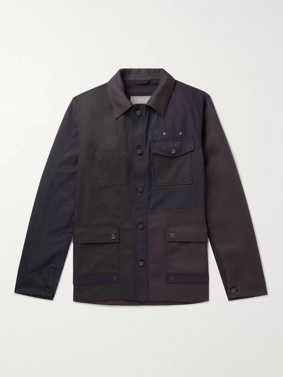 Lanvin Patchwork Cotton Jacket