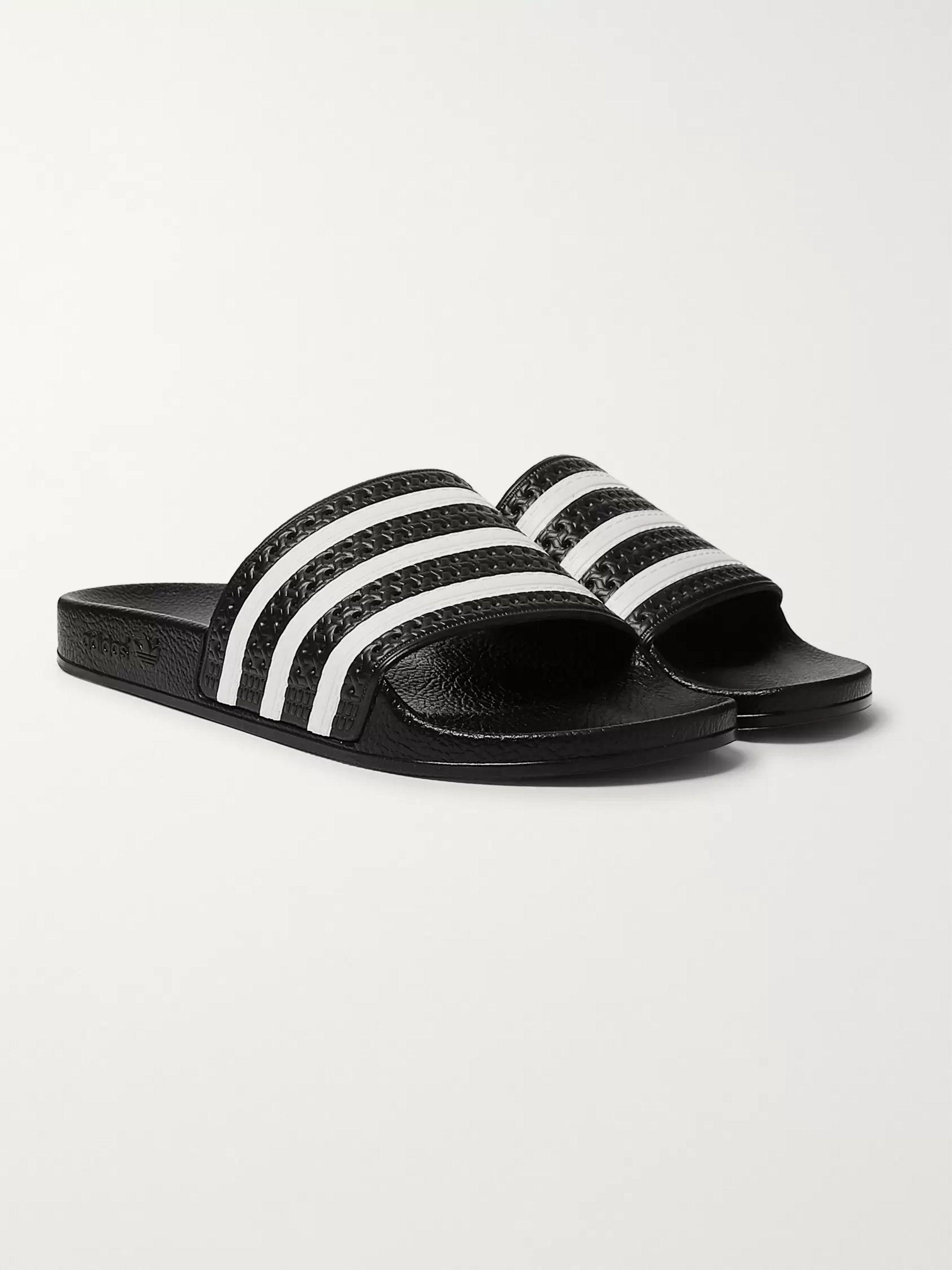 Adilette Textured Rubber Slides