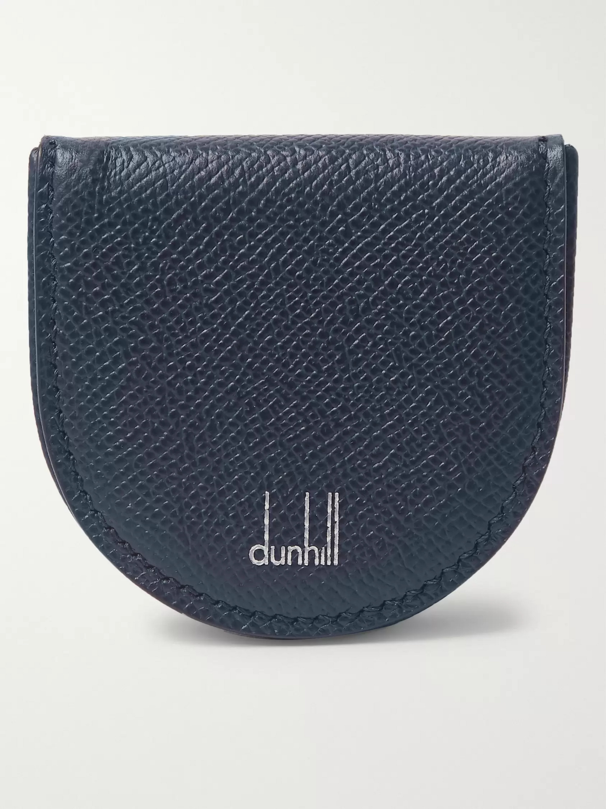 Dunhill Cadogan Full-Grain Leather Coin Case