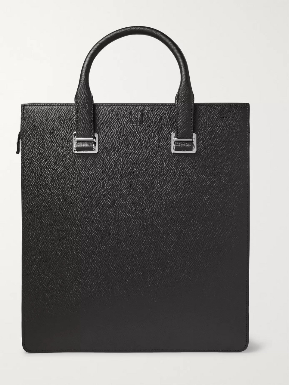Dunhill Cadogan Pebble-Grain Leather Tote Bag