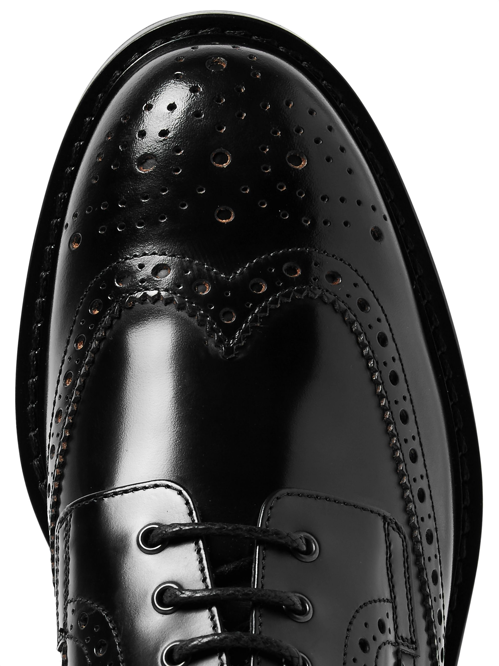 Dunhill Traction Leather Wingtip Brogues