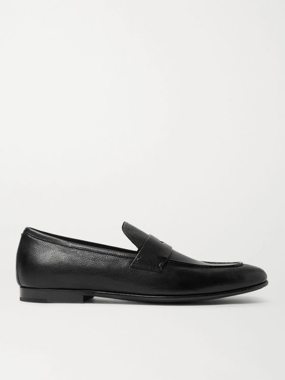 DUNHILL Chiltern Leather Loafers