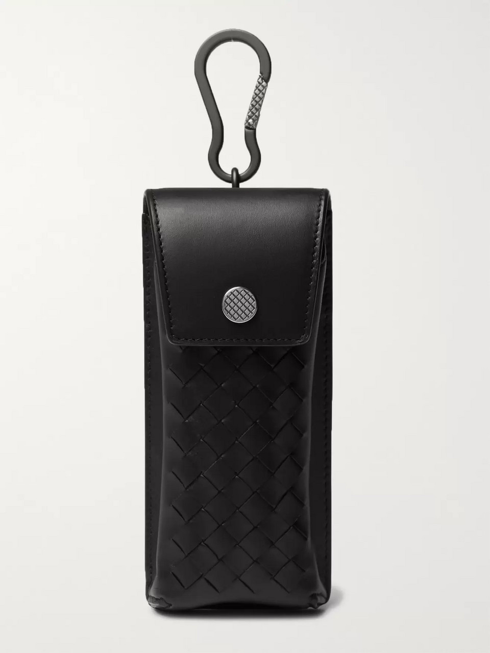Bottega Veneta Intrecciato Leather Sunglasses Case