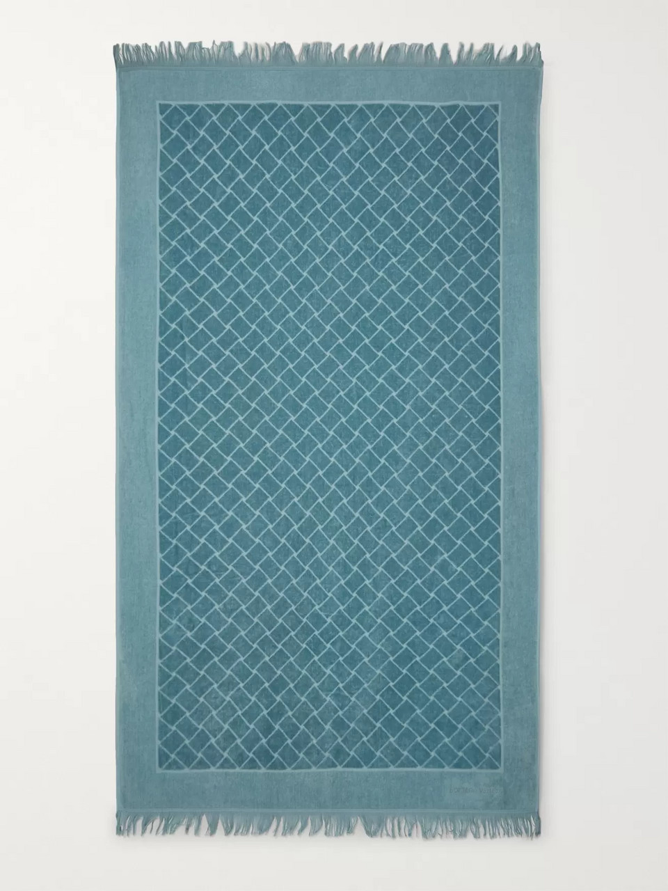 Bottega Veneta Intrecciato Cotton-Terry Beach Towel