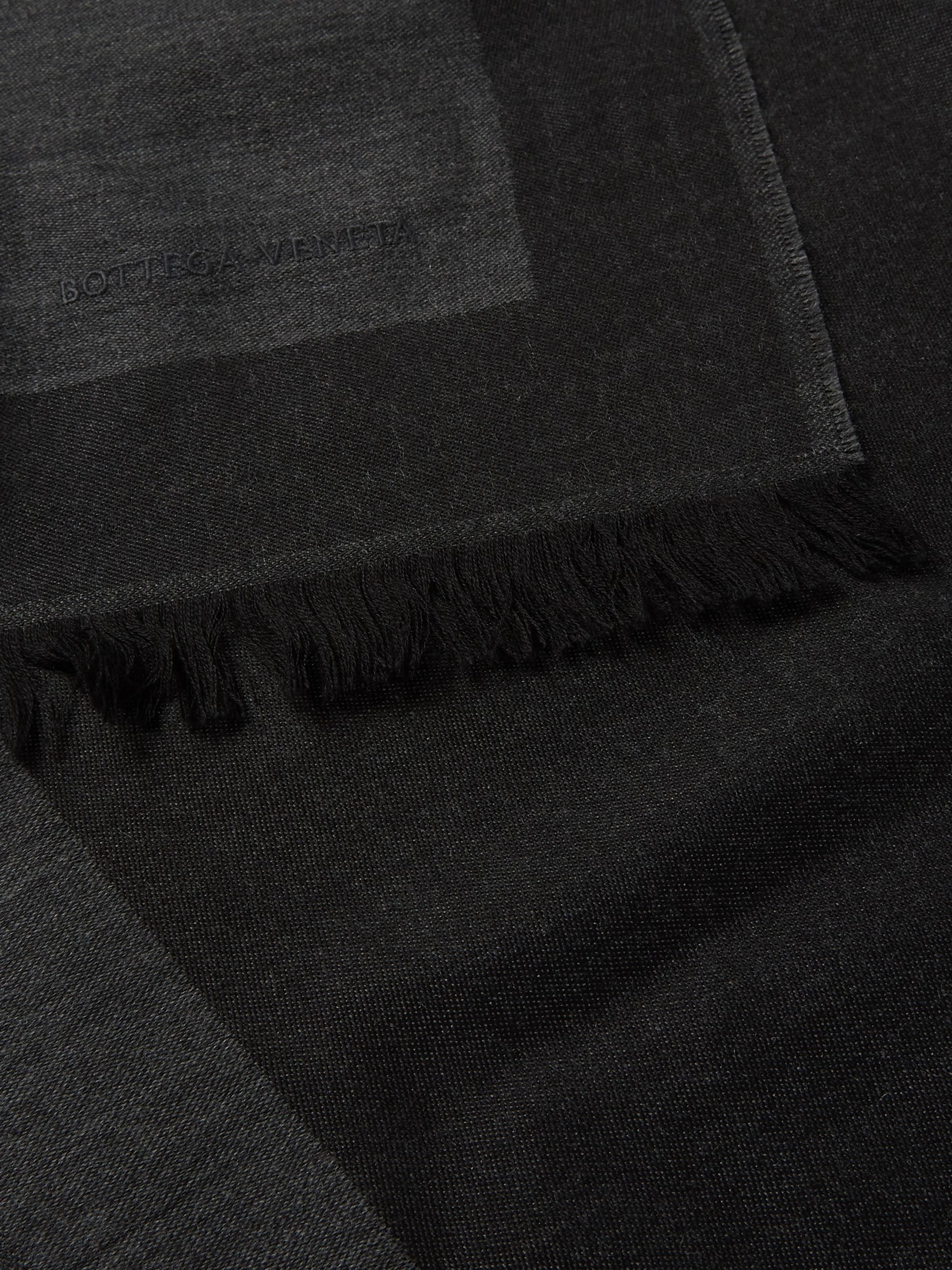 Bottega Veneta Wool, Cashmere and Silk-Blend Scarf