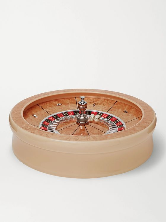 William & Son Maple Veneer Roulette Wheel