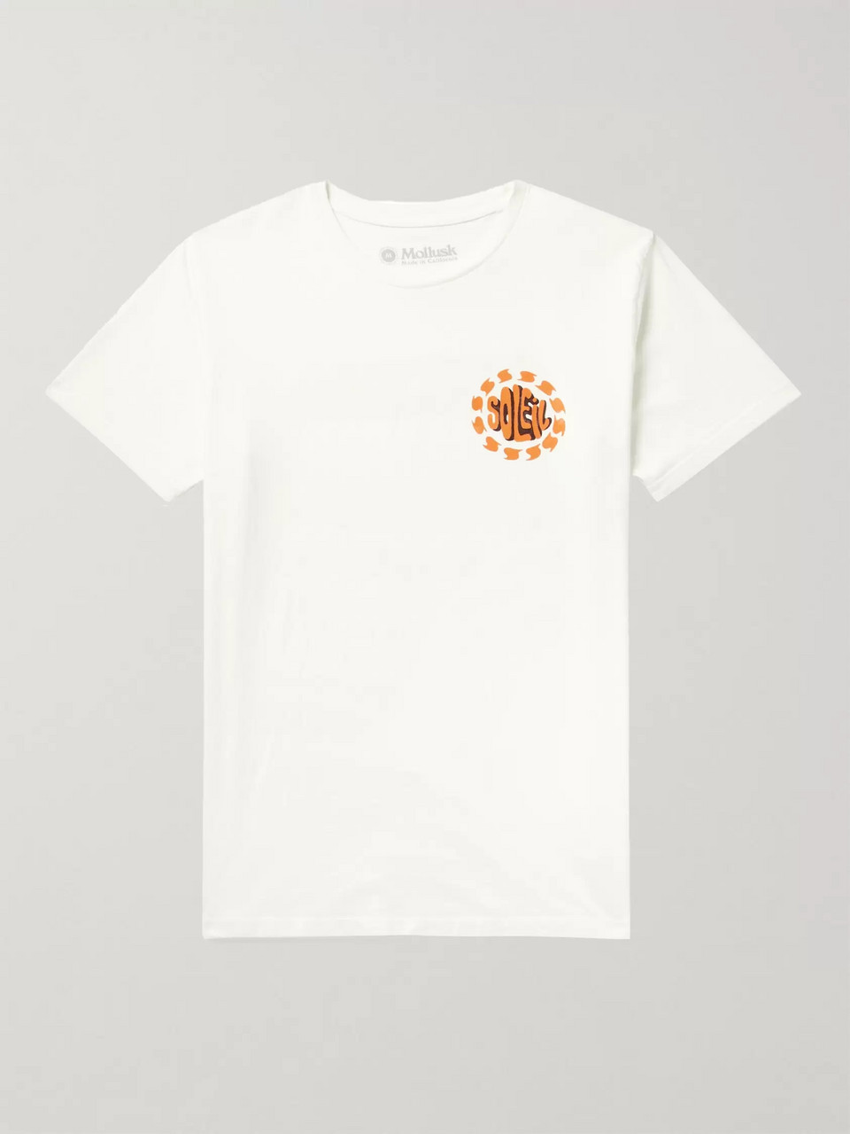 Mollusk Soleil Printed Cotton-Jersey T-Shirt