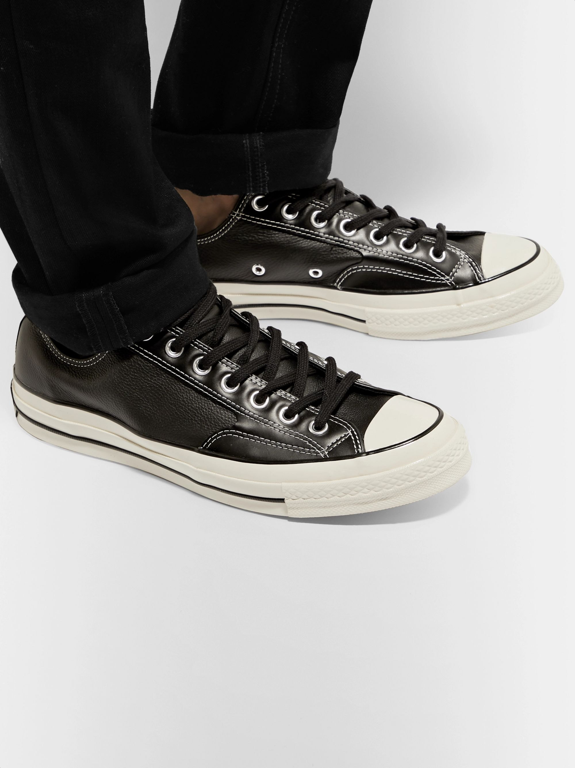 Converse 1970s Chuck Taylor All Star Full-Grain Leather Sneakers