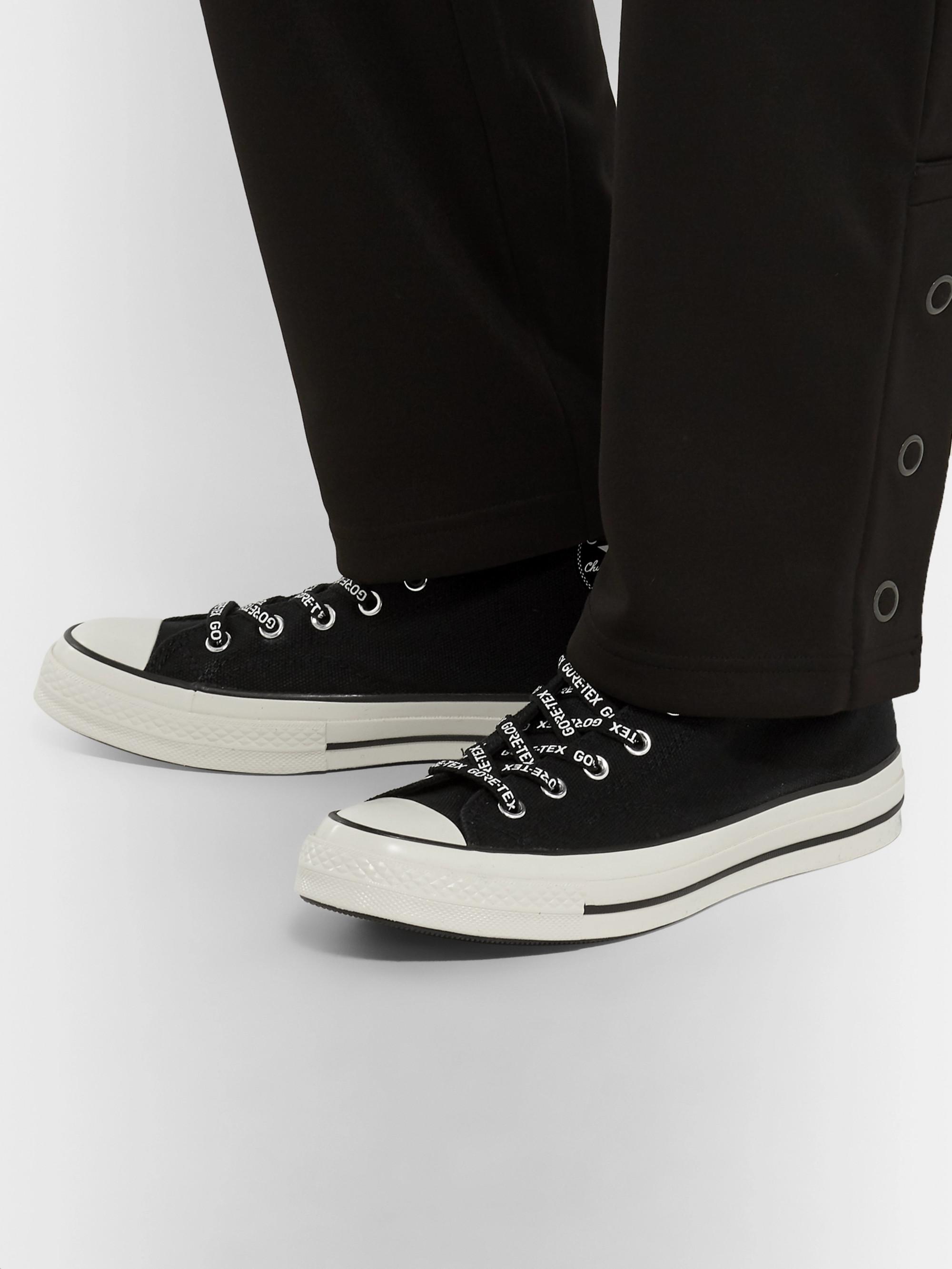3749f49fd34 Black Chuck 70 GORE-TEX High-Top Sneakers   Converse   MR PORTER
