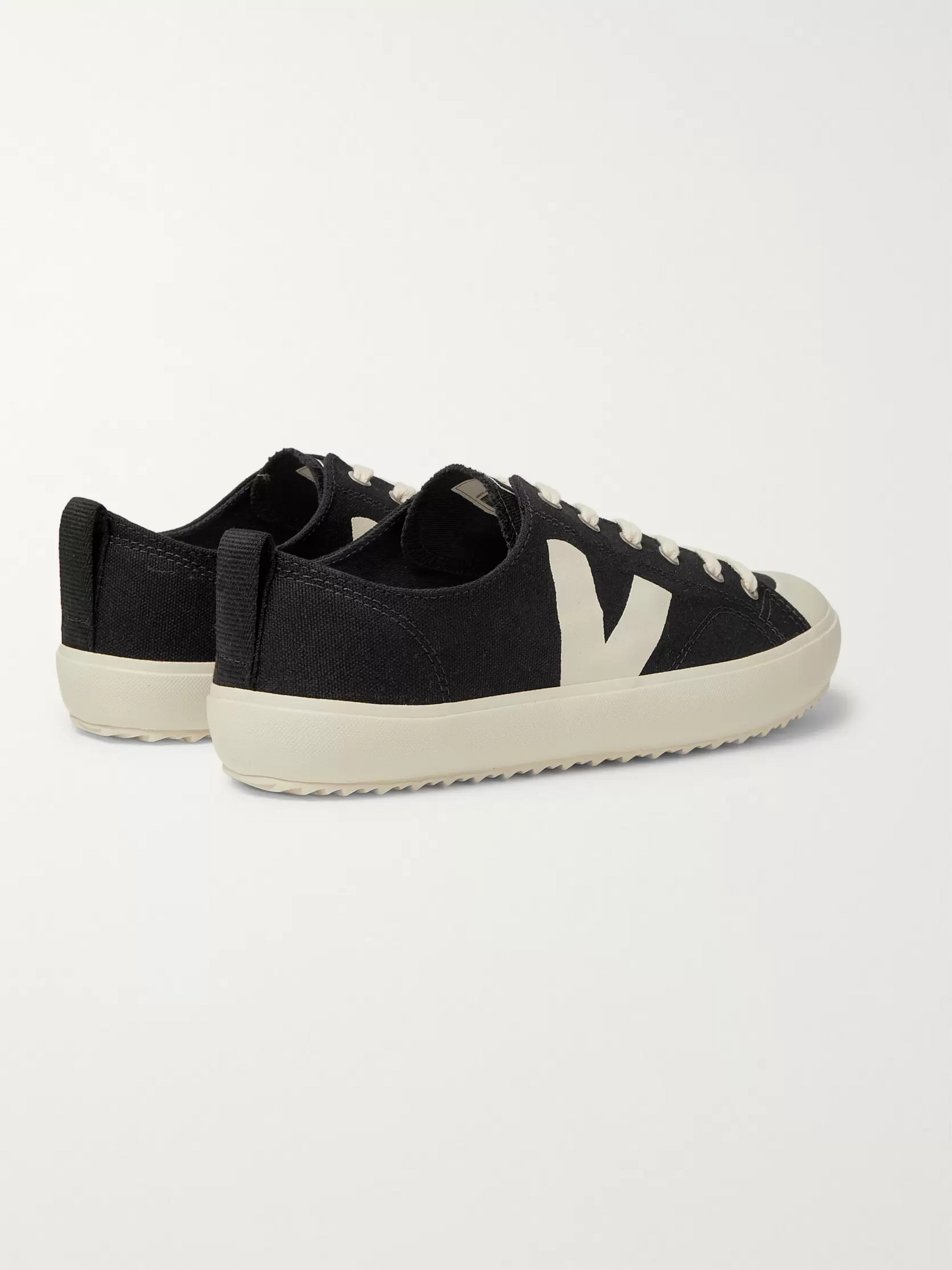 Veja Nova Rubber-Trimmed Organic Cotton-Canvas Sneakers