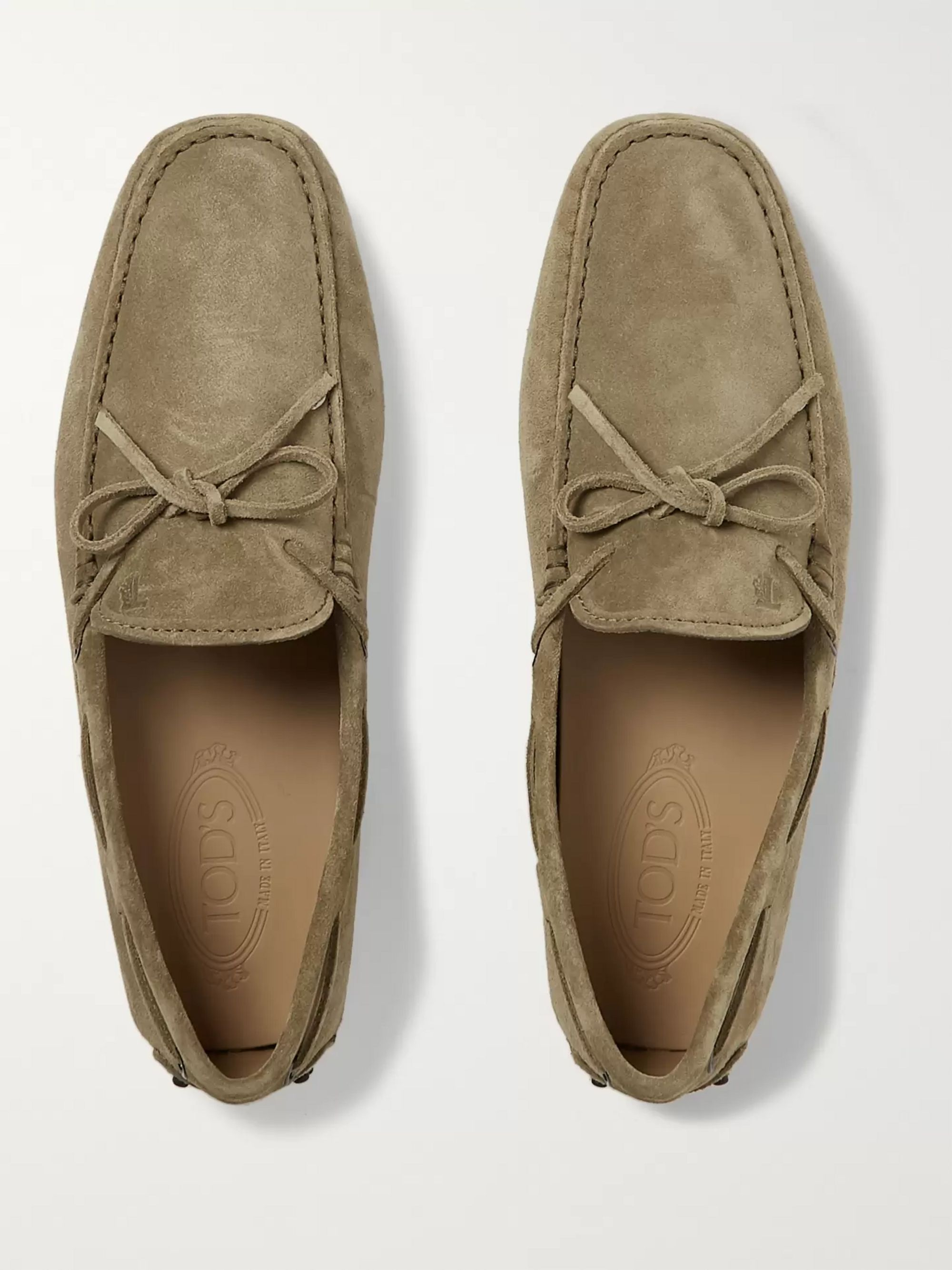 Tod's Gommino Suede Driving Shoes