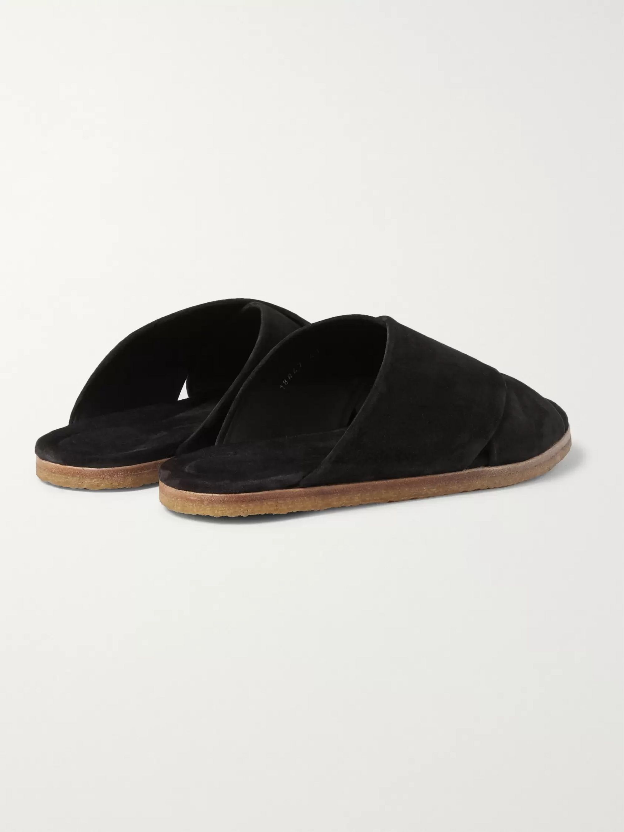 Dries Van Noten Suede Sandals