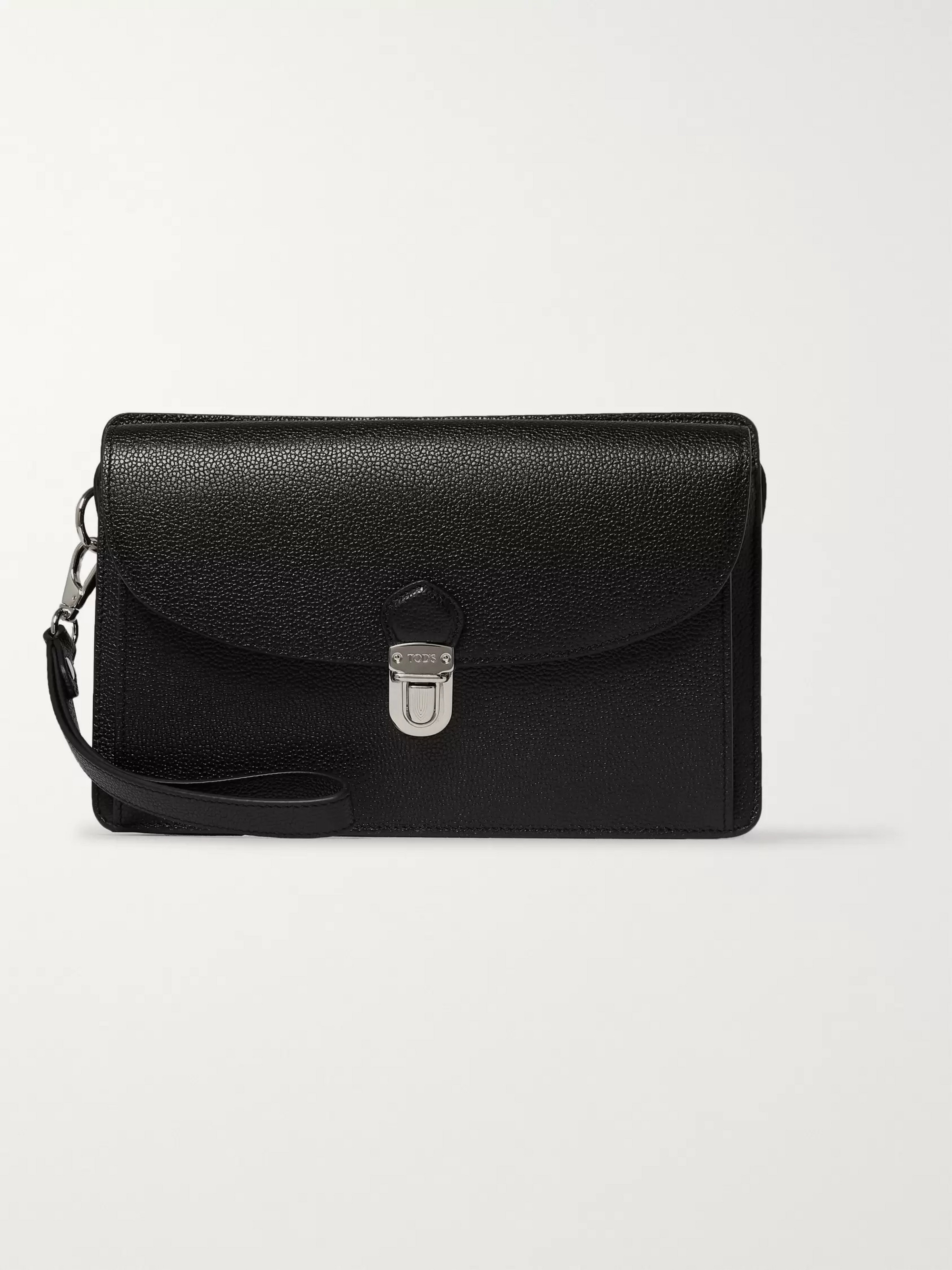Tod's Full-Grain Leather Pouch