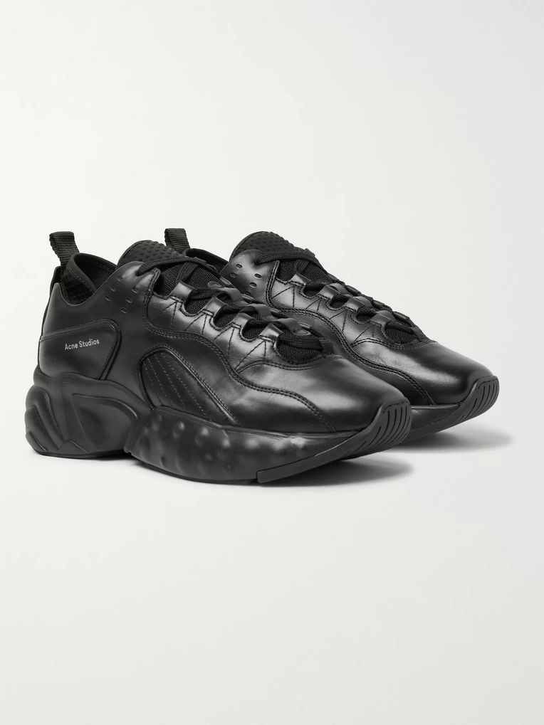 Acne Studios Rockaway Leather Sneakers