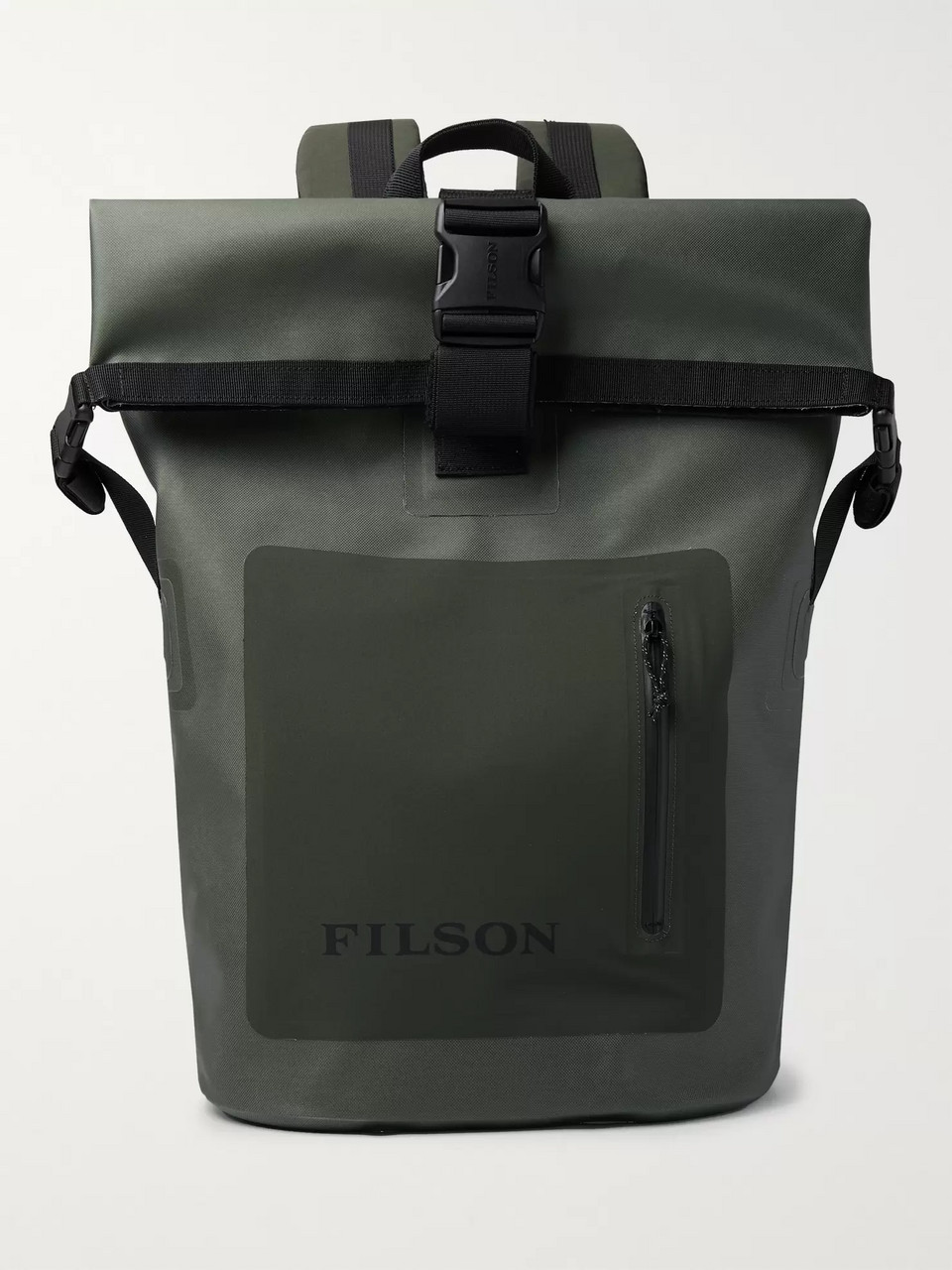 Filson Dry Waxed-Canvas Roll-Top Backpack
