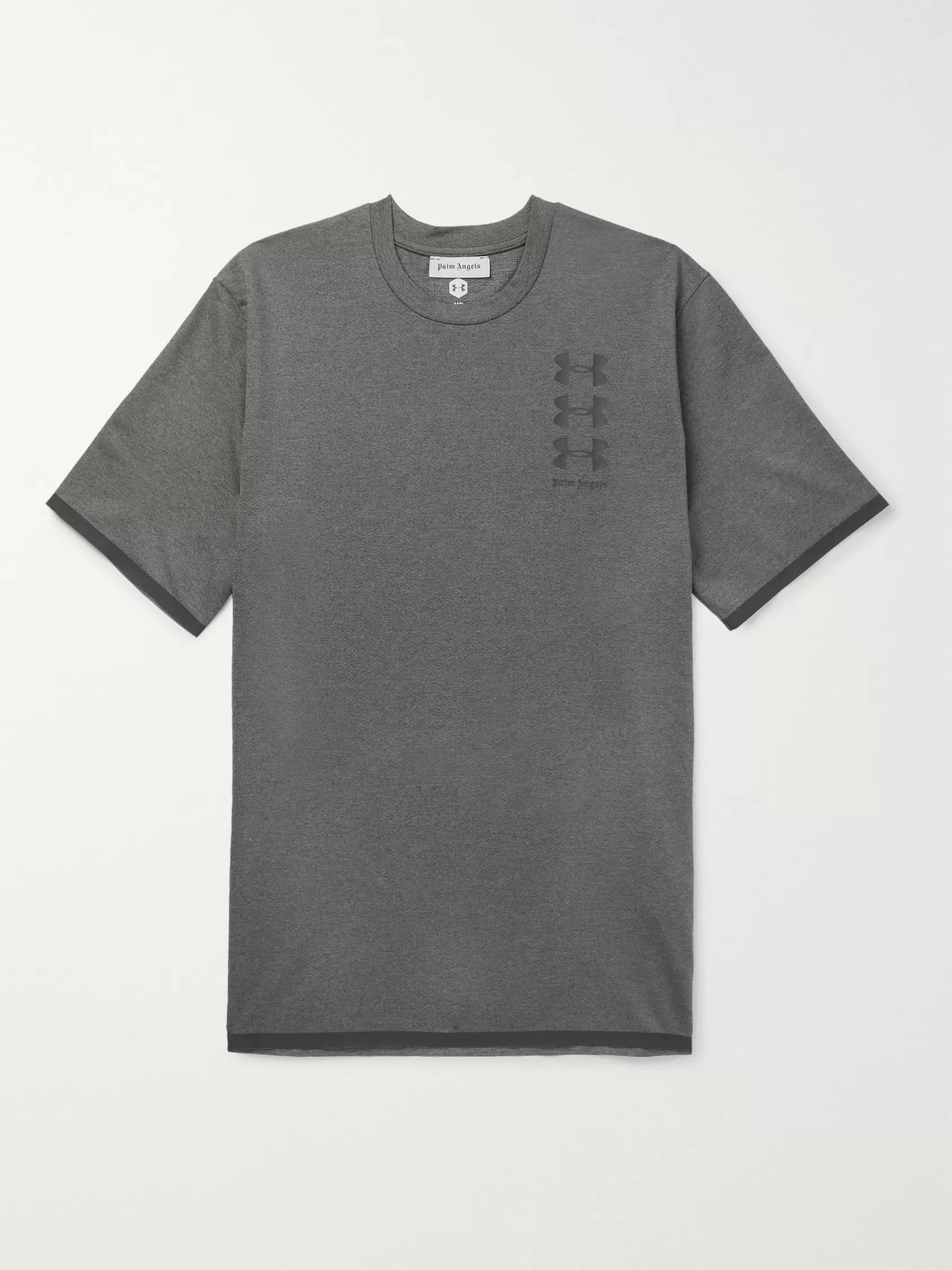 Palm Angels + Under Armour Stretch-Jersey T-Shirt