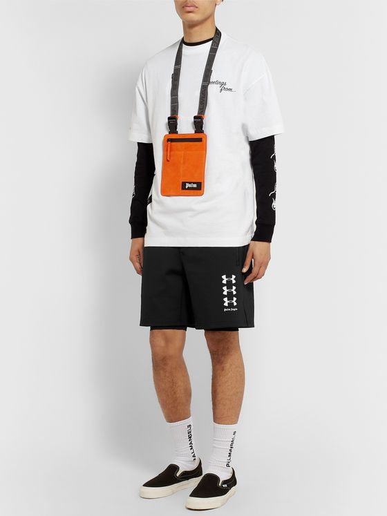 Palm Angels + Under Armour Stretch-Jersey Shorts