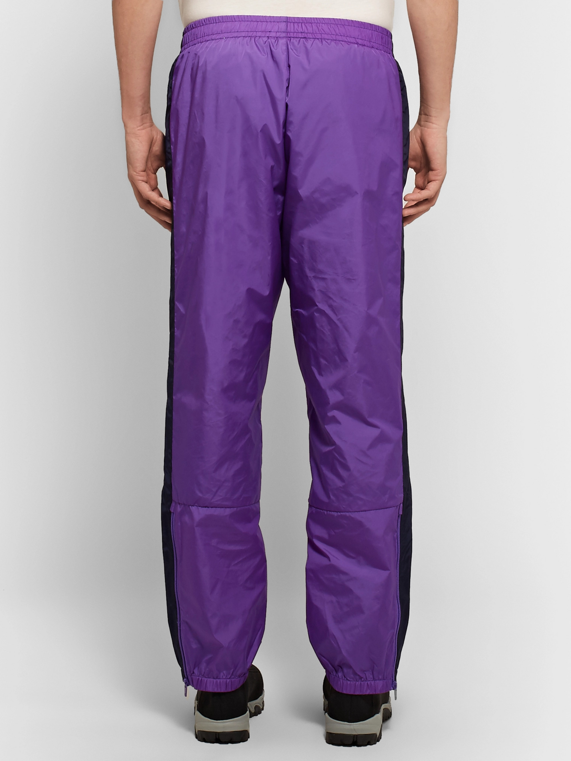 Acne Studios Phoenix Tapered Striped Nylon Sweatpants