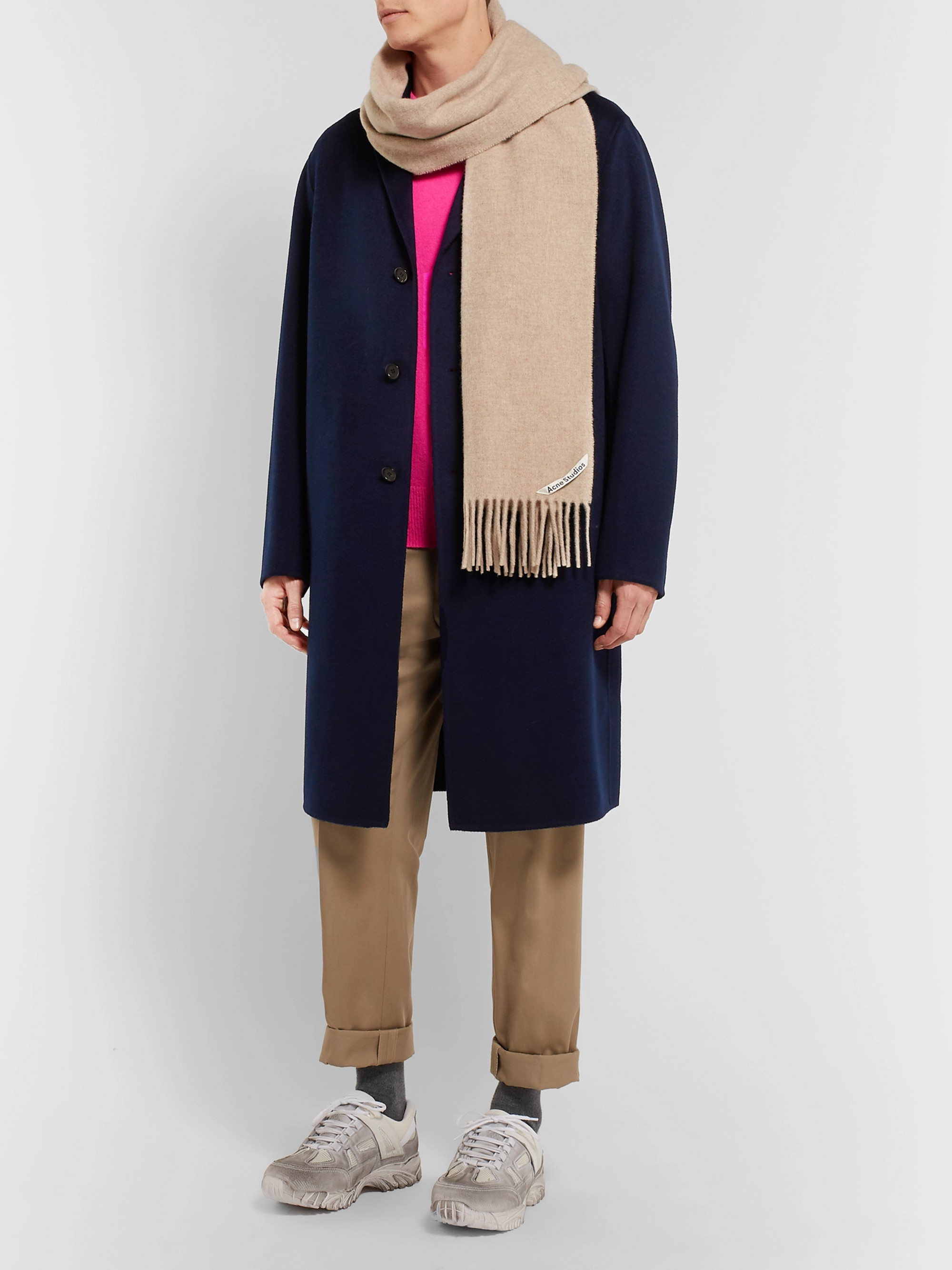 Acne Studios Chad Wool and Cashmere-Blend Coat